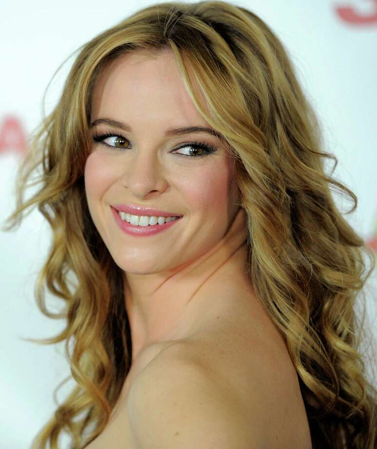"Danielle Panabaker, a cast member in ""Piranha 3DD,"" poses at the premiere of the film on Tuesday, May 29, 2012 in Los Angeles. (Photo by Chris Pizzello/Invision/AP) Photo: Chris Pizzello / 2012 Invision"