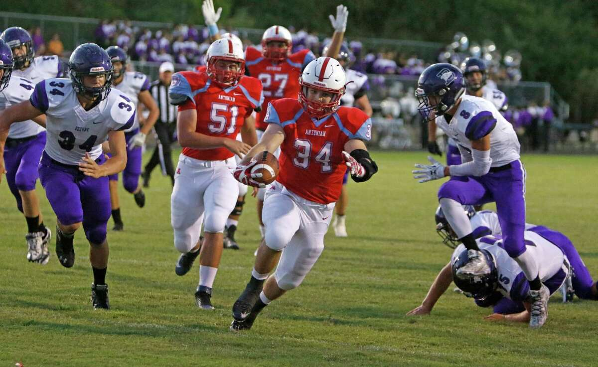 Friday, Oct. 5 4A Boerne (5-1) 41 at TAPPS Antonian (4-2) 20