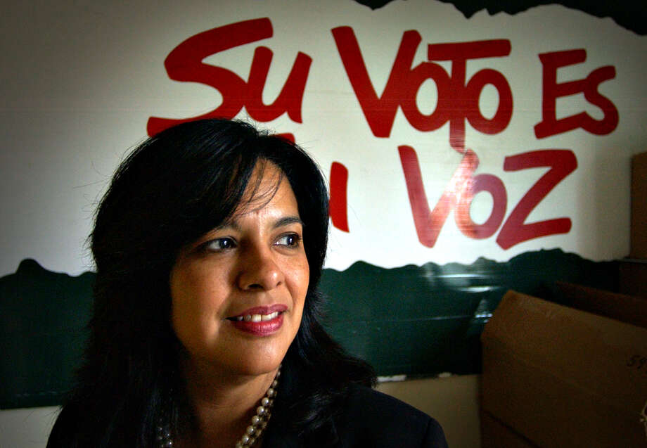 Lydia Camarillo: Your vote is your voice. Photo: BOB OWEN /SAN ANTONIO EXPRESS-NEWS / SAN ANTONIO EXPRESS-NEWS