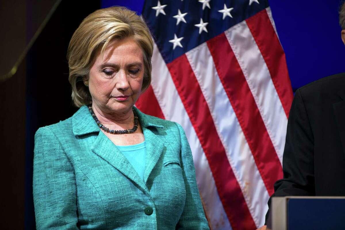 Presidential hopeful Hillary Clinton