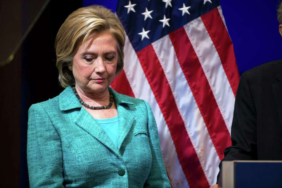"Presidential hopeful Hillary  Clinton  said using a private email while she was secretary of state had been ""a mistake."" Photo: Doug Mills /New York Times / NYTNS"