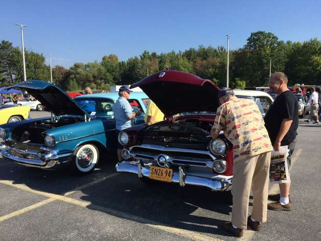 The Times Union car show runs until 2 p.m. on Saturday, Sept. 19, 2015, at the Times Union, 645 Albany Shaker Road, Colonie. Proceeds benefit the Times Union Hope Fund. (Cindy Schultz/Times Union)