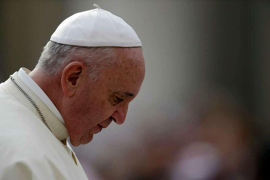 Pope Francis Photo: Gregorio Borgia, STF / AP