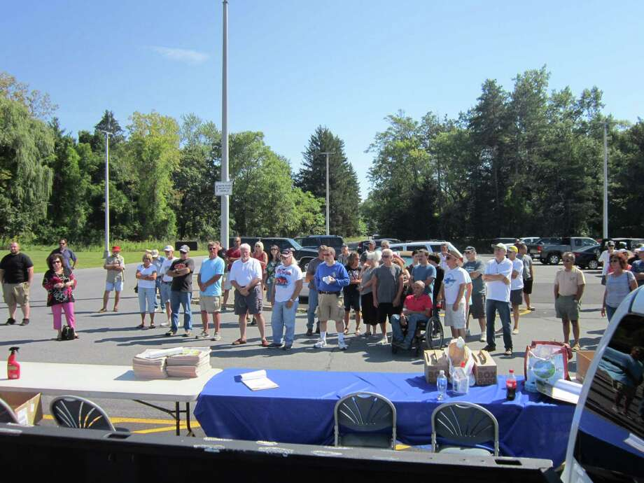 Were you Seen at the 4th Annual Times Union Car Show, a benefit for the Hope Fund, held at the Times Union in Colonie on Saturday, Sept. 19, 2015 Photo: Annika Couto