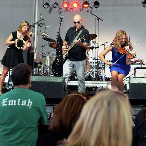 The independent, power-folk band Emish performs at the 19th Annual Irish 2000 Music and Arts Festival's at the Saratoga County Fairgrounds Saturday Sept. 19, 2015 in Ballston Spa, NY.  (John Carl D'Annibale / Times Union) Photo: John Carl D'Annibale / 00033379A