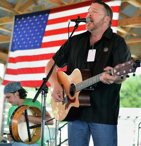 Rakish Paddy singer Perry Daniels performs at the 19th Annual Irish 2000 Music and Arts FestivalOs at the Saratoga County Fairgrounds Saturday Sept. 19, 2015 in Ballston Spa, NY.  (John Carl D'Annibale / Times Union) Photo: John Carl D'Annibale / 00033379A