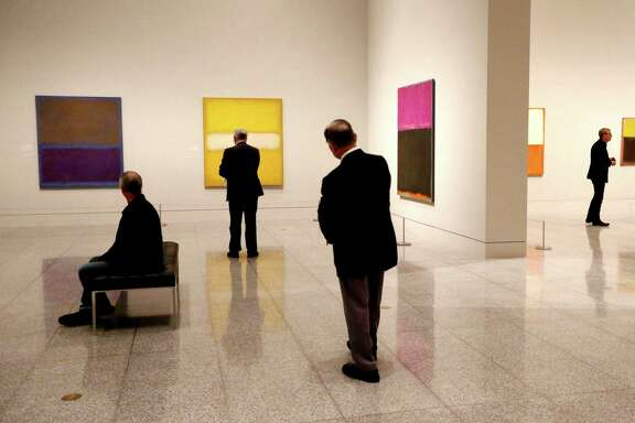 """Mark Rothko: A Retrospective"" opens today at Museum of Fine Arts, Houston."