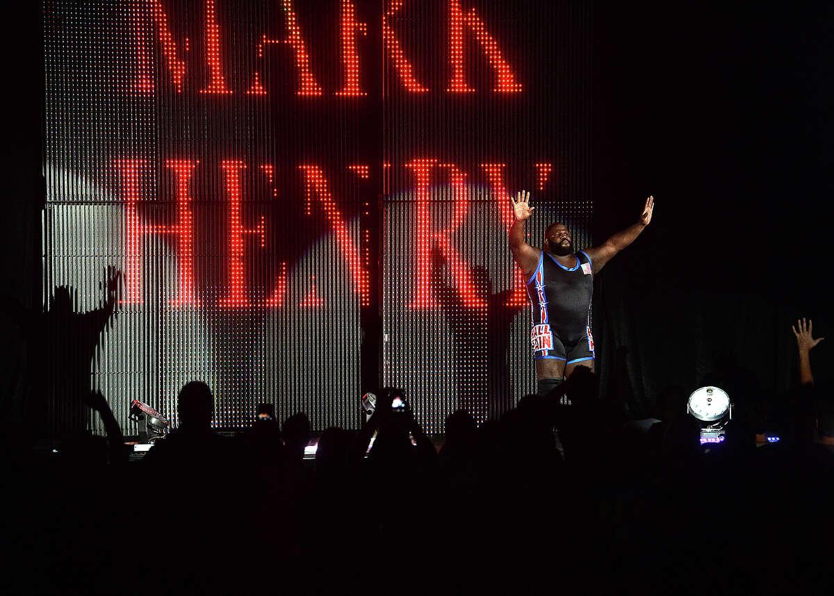 Silsbee native and long-time professional wrestler Mark Henry, aka
