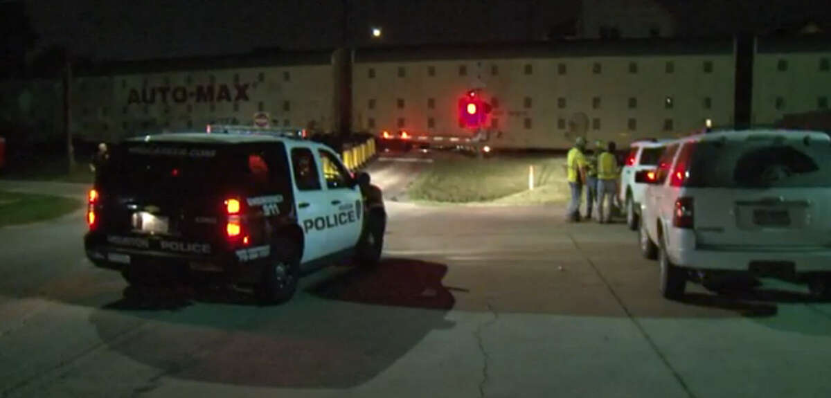 A pedestrian was killed by a train late Saturday evening west of downtown Houston, near the intersection of Roy and Allen streets. The man, who was not identified, was decapitated when a train hit him, according to police reports.