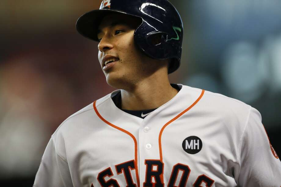 Houston Astros' Carlos Correa turns 21 years old today. Keep clicking for some popular local bars where he can ring in his birthday. Photo: Marie D. De Jesus, Houston Chronicle