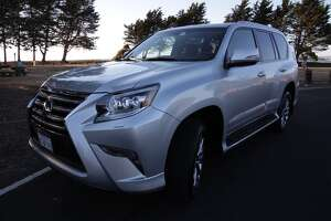 2015 Lexus GX460 — a big and tall SUV that wants to live in the outback, as long as there's a good hotel out there. - Photo
