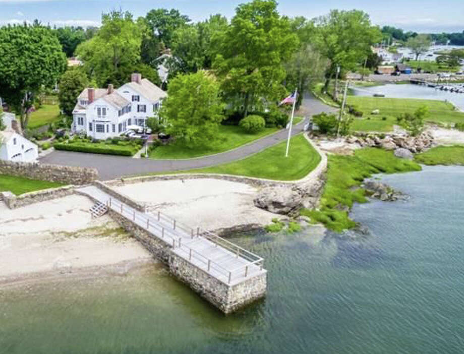The property at 1110 Harbor Road was recently sold for $5.2 million. Photo: Contributed / Contributed Photo / Fairfield Citizen