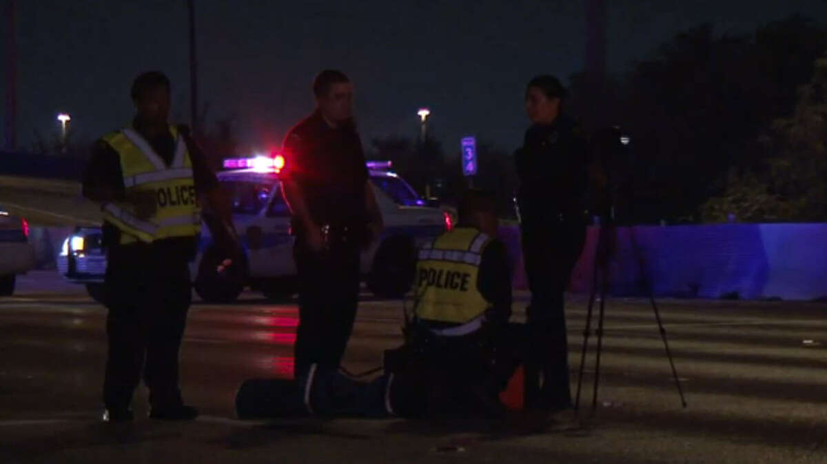 Two people reportedly died in a traffic crash Sunday night on the 610 Loop in south Houston.