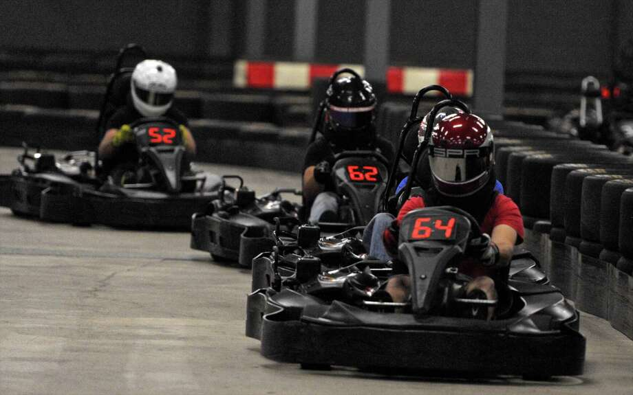 Buckle up for some all-you-can-drive go-karting at On Track Karting in Brookfield on Friday. Find out more. Photo: H John Voorhees III, Hearst Connecticut Media / The News-Times