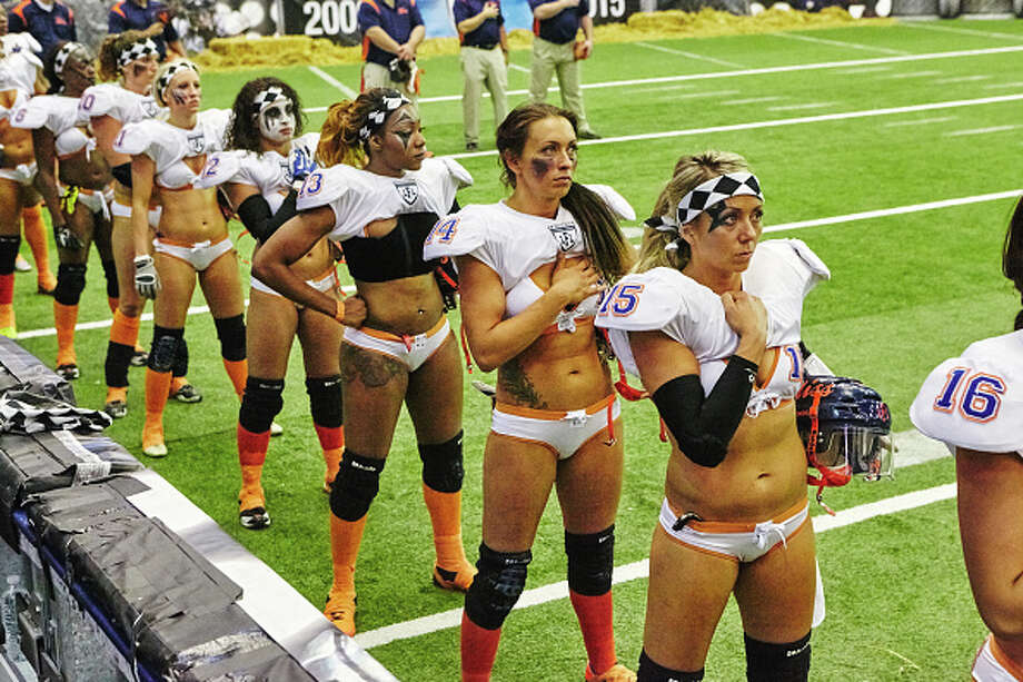 Women Bikini Football 33