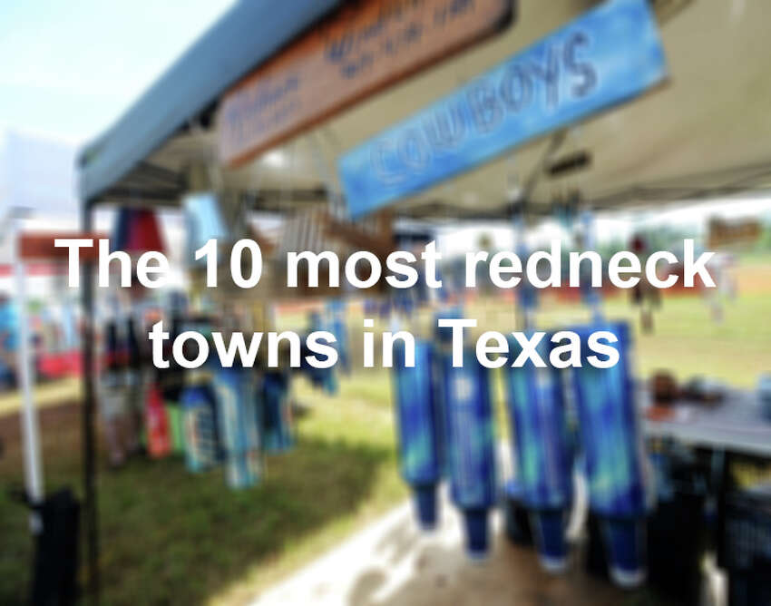 The good ol' boys at RoadSnack crunched the data to tally the top 10 most redneck town in the Lone Star state.
