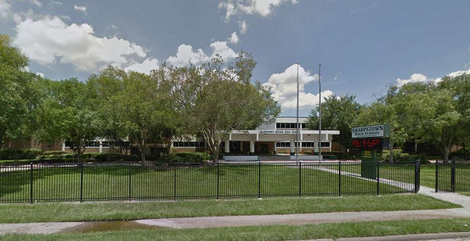 Sharpstown High School Photo: Google Streetview