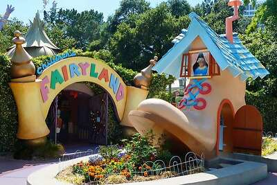 The entrance to Children's Fairyland in Oakland.