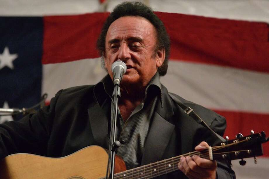 Harold Ford portrays Johnny Cash in concert at the Danbury Palace on Saturday, Oct. 3. Photo: Contributed Photo