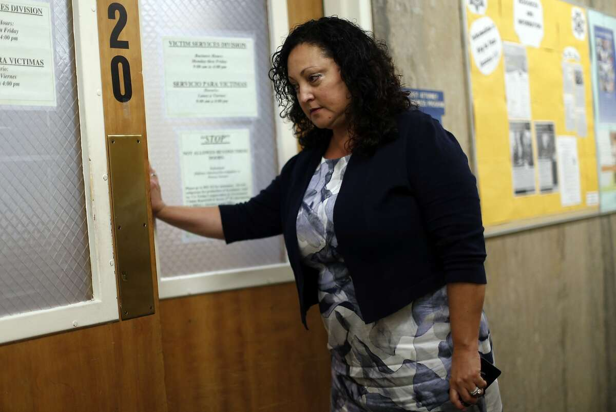 Gena Castro-Rodriguez chief of the SF District Attorney's victim services division, in San Francisco, Calif., on Monday, September 21, 2015.