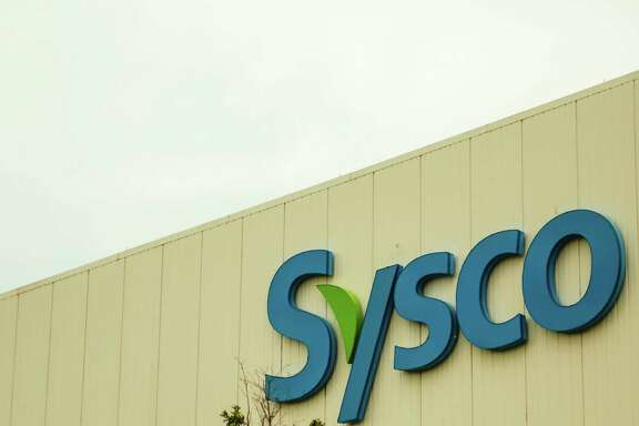 Sysco Houston Inc. food products supplier at 10710 Greens Crossing Blvd. in Houston, Texas June 29, 2015. (Billy Smith II / Houston Chronicle)