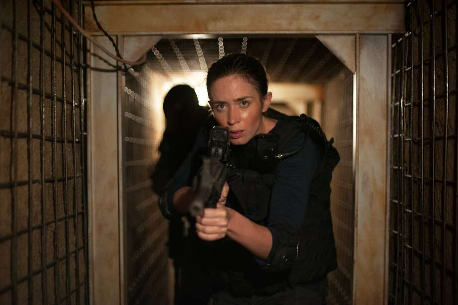 """Emily Blunt stars as Kate, the junior member of a team fighting the drug war, in the consistently impressive """"Sicario."""" Photo: Richard Foreman, Jr.  SMPSP, Associated Press"""