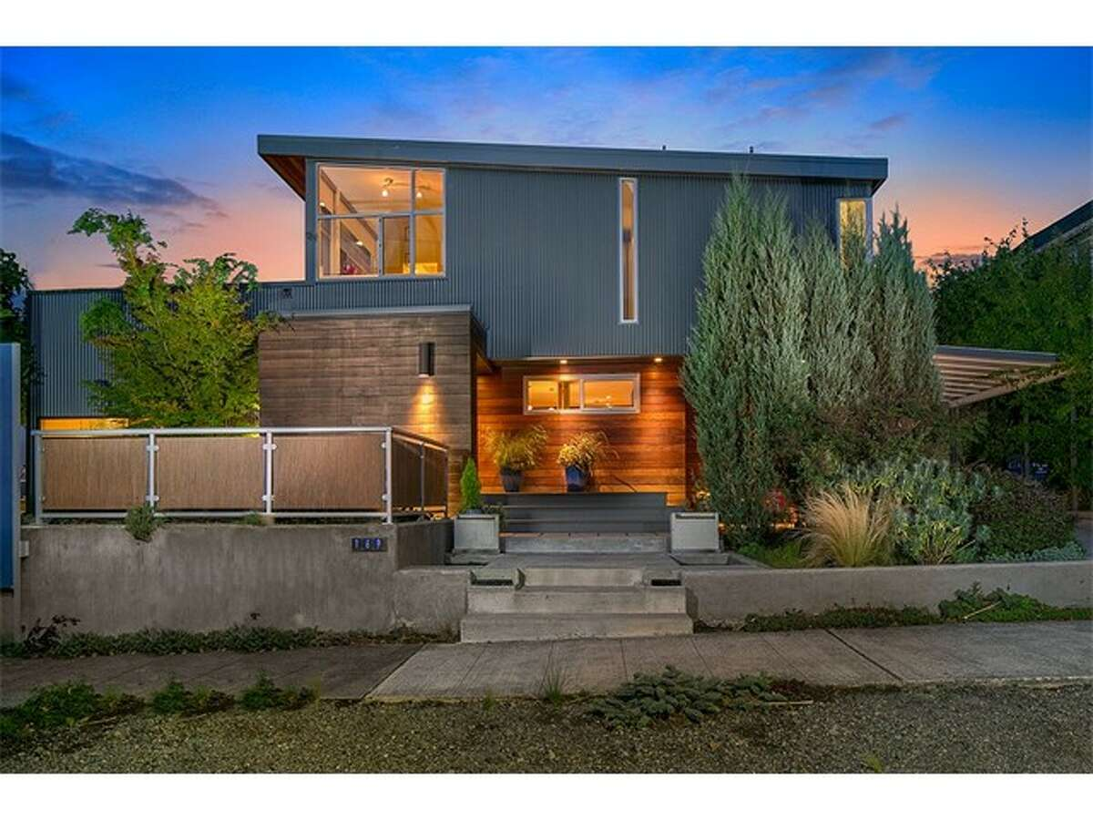 This modern Queen Anne home is for sale for $1.795 million. It's at 169 Lynn St. For the full listing, go here.