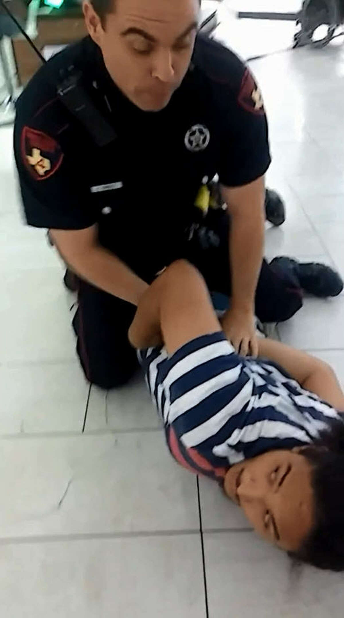 Jesse Valdez was detained Sept. 19 at Willowbrook Mall in Houston for riding a skateboard-like device through the shopping area, and later charged with disorderly conduct and resisting arrest. The incident was captured on tape by others in the mall who questioned why Valdez was detained, handcuffed, arrested and had a taser pointed at him for seemingly a minor offense.