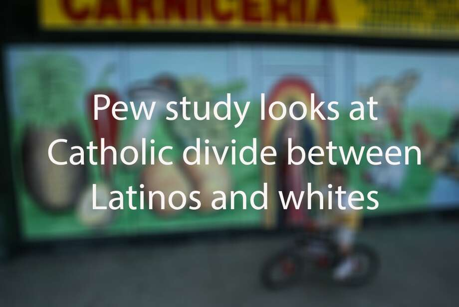 Latinos continue to be a force in the U.S. Catholic church, making up more than 30 percent of the adult Catholic population. But they are also more resistant to changes, a new Pew Research Center study  shows.  Keep clicking to learn more. Photo: Anne Cusack, LA Times Via Getty Images