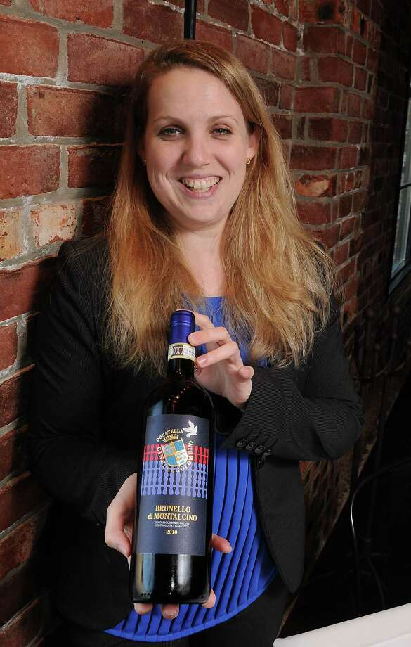 Jane-Paige B. D'Huyvetter with a Brunello di Montalcino at B & B Butchers Thursday Sept. 17,2015.(Dave Rossman photo) Photo: Dave Rossman, Freelance / Freelalnce