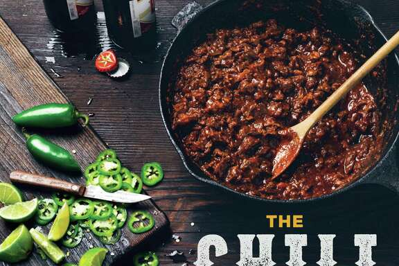 "Cover of ""The Chili Cookbook"" by Robb Walsh (Ten Speed Press, $18.99)."