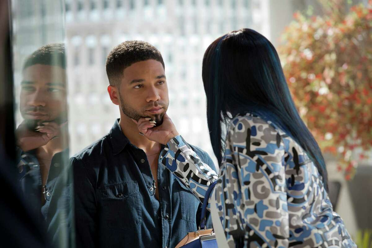 Jussie Smollett plays Jamal, the gay singer/songwriter son of Cookie (played by Taraji P. Henson) on