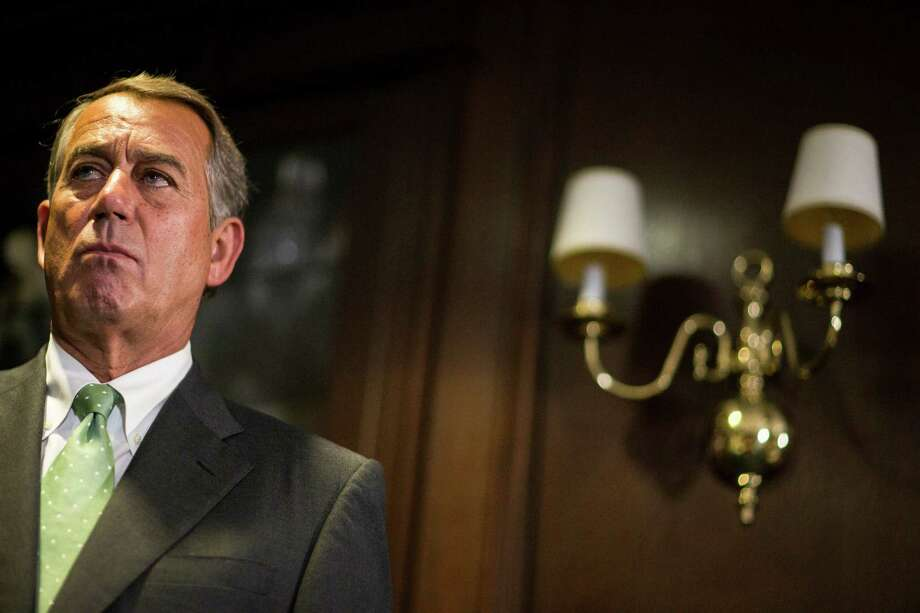 Boehner Photo: ZACH GIBSON / New York Times / NYTNS
