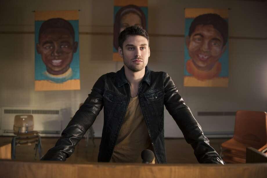 "Ryan Guzman in ""Heroes Reborn,"" a series reboot premiering Thursday, Sept. 24, on NBC. Photo: Christos Kalohiridis, Associated Press"