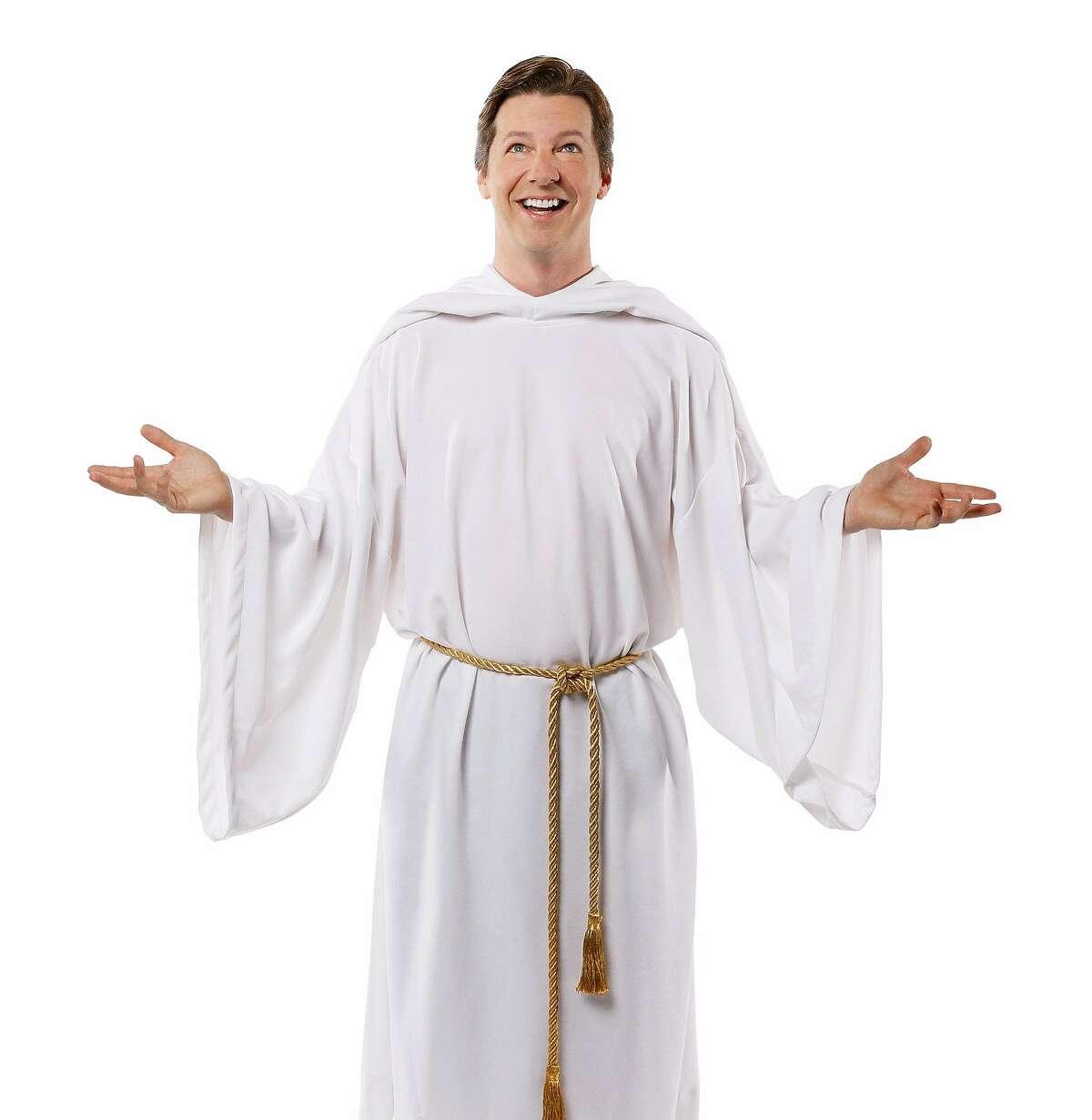 Sean Hayes as God in
