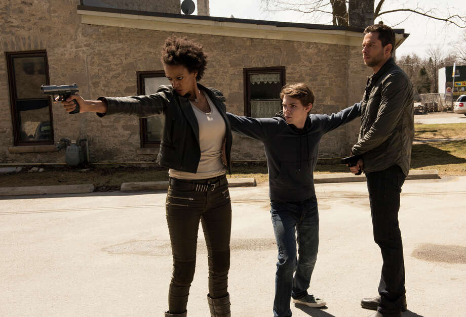 """Judith Shekoni, Robbie Kay and Zachary Levi play ordinary people who discover they have super human abilities in """"Heroes Reborn,"""" which picks up where the original """"Heroes"""" left off. The show requires a leap of faith on the part of the audience, but it is ultimately rewarding. Photo: NBC / Christos Kalohiridis / NBC / 2015 NBCUniversal Media, LLC"""