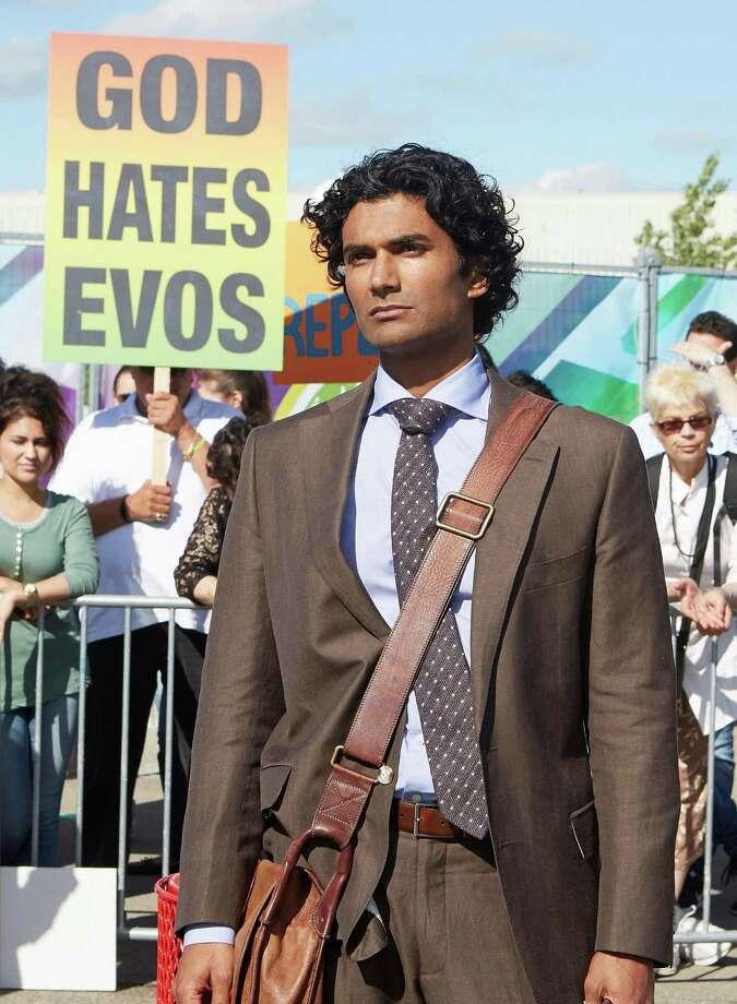 "San Antonio's Sendhil Ramamurthy reprises his 'Heroes' role of Mohinder Suresh in NBC-TV's   ""Heroes Reborn."" Photo: NBC / 2015 NBCUniversal Media, LLC"