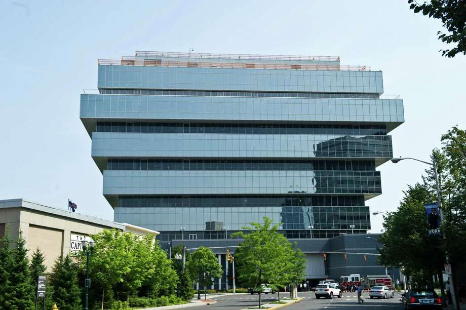 Purdue Pharma headquarters in Stamford, Conn. Photo: Keelin Daly / ST / Stamford Advocate