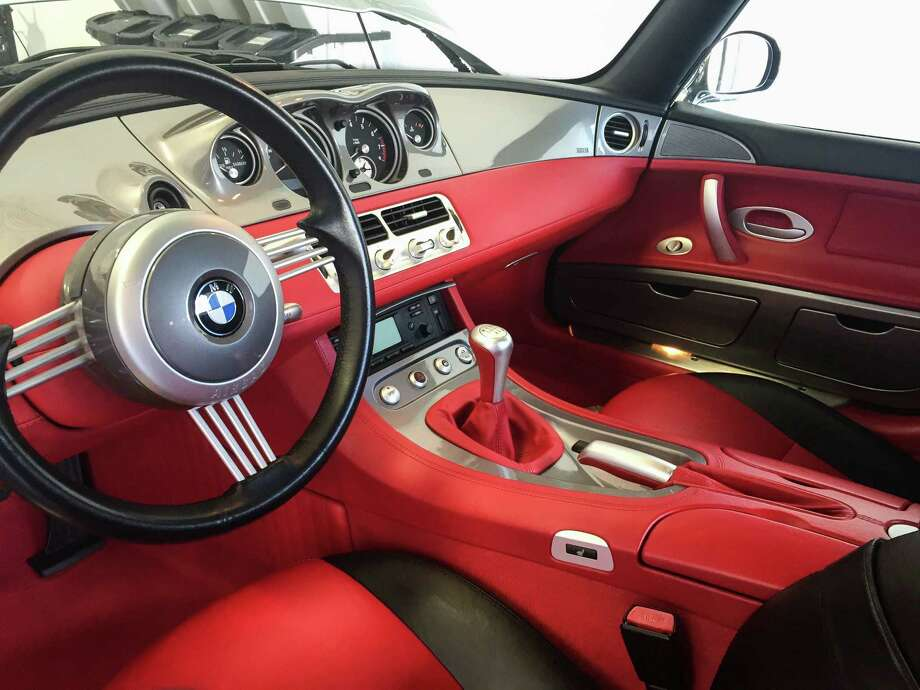 Salon Owner Anthony Orosco said this client's BMW Z8 doesn't hit the road much, but still needs cleaning every six months or so. Photo: Tyler White/SAEN