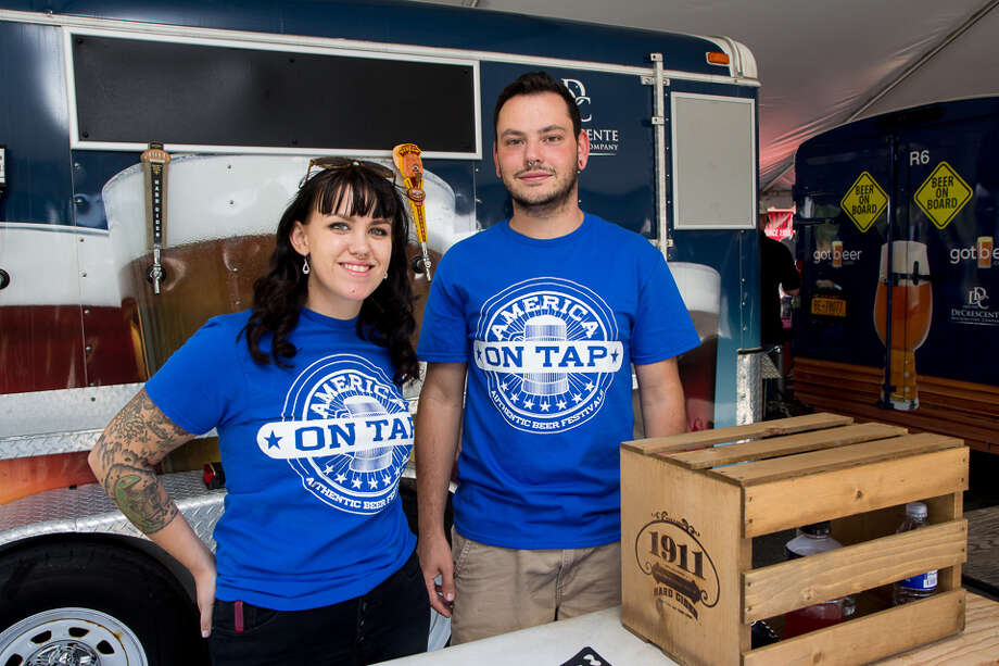 Were You Seen at America on Tap Beer Festival in Troy, NY, part of the city's Craft Beer Week, on Saturday, September 19, 2015? Photo: Brian Tromans