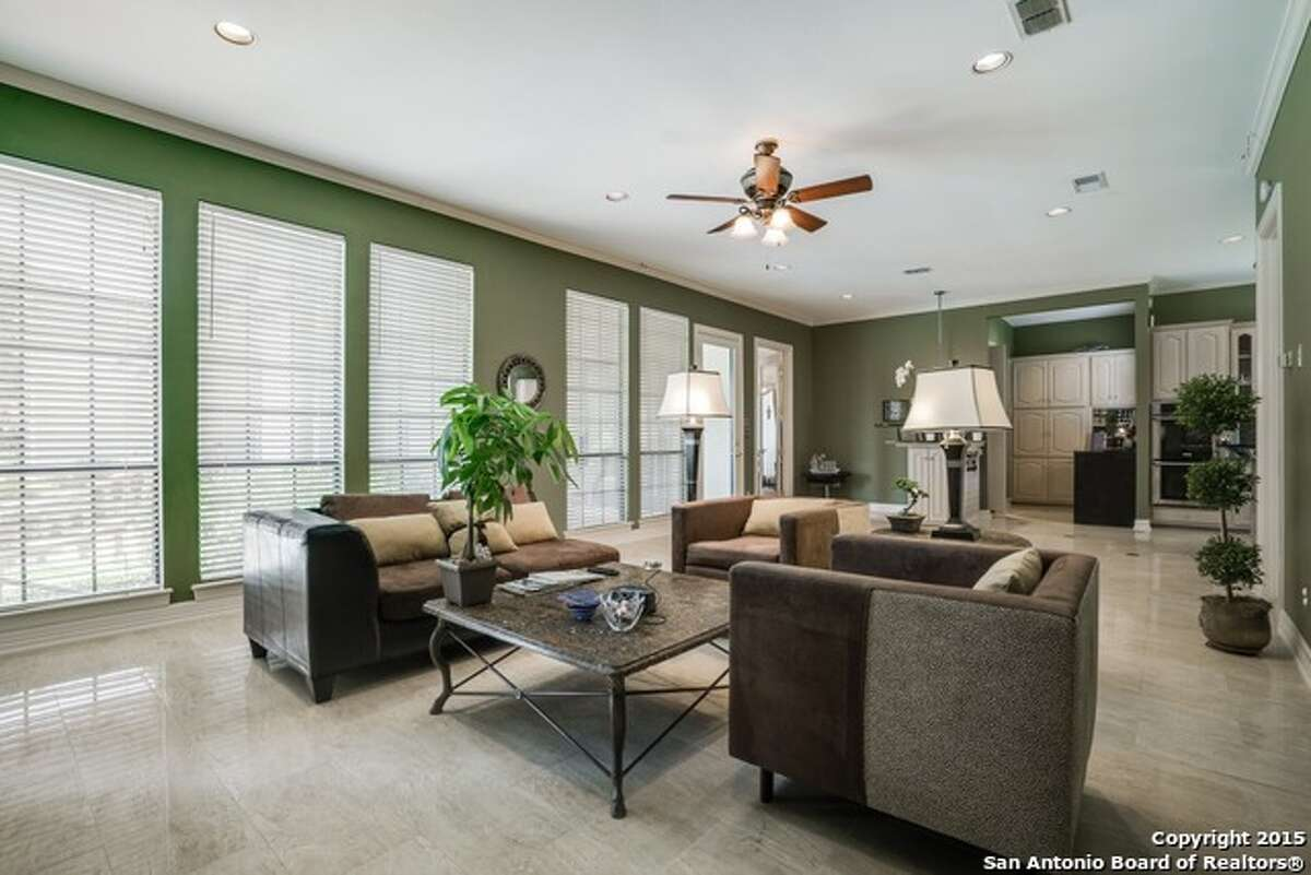 10. 6 Darby Glen Rent: $4,900/month Bedrooms: 4 Bathrooms: 5 Square footage: 4,284 Neighborhood: Forest Crest-The Dominion Features: Outdoor living areas, elegant pool, pool house