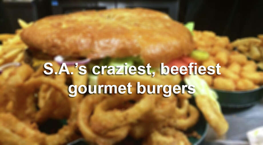 The Alamo City loves burgers, and these tasty creations are a tribute to the city's culinary creativity. Photo: Courtesy