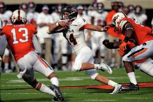 UTSA's Sturm could be pressed into duty against Louisiana Tech - Photo