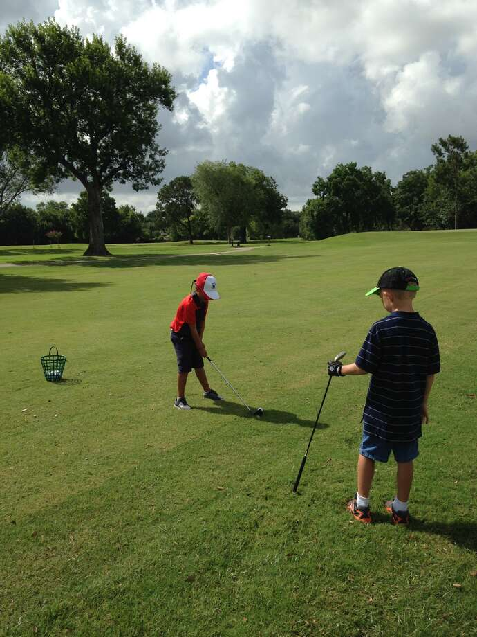 "The City of Jersey Village offers summer junior camps at Jersey Meadow Golf Course. ""We usually have 18 -20 kids per camp and we traditionally do 2 camps each summer,"" said Lynn Parker, head golf professional, Jersey Meadow Golf.