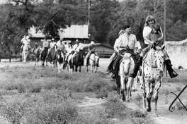 This file photo of Bandera, Texas is part of a collection from the San Antonio Express-News archives. More details are in the Bandera, back in the day, slideshow.