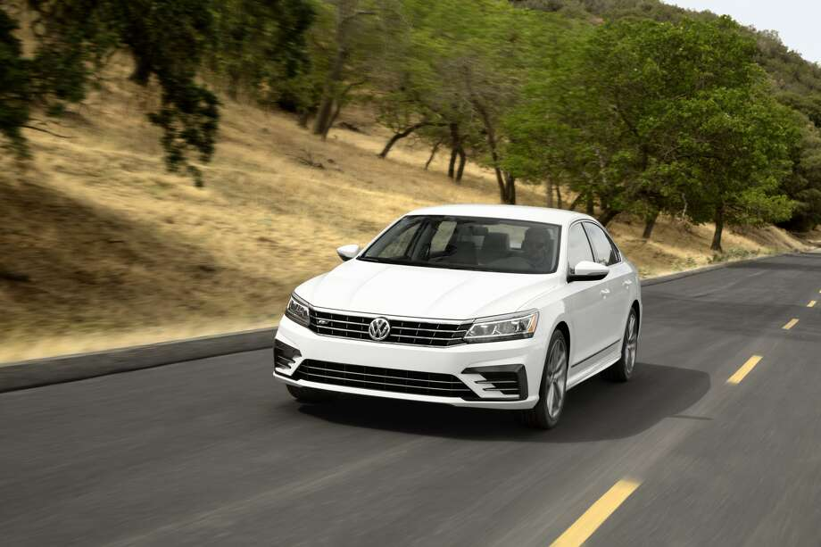 Volkswagen unveiled the new 2016 Passat sedan.