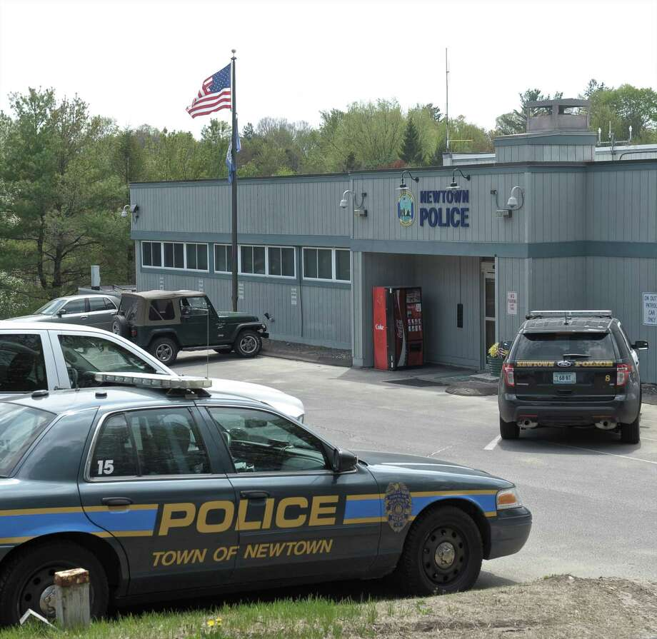 The Newtown Police Department, on Route 25, in Newtown, Conn, on Tuesday, May 5, 2015. Photo: H John Voorhees III / H John Voorhees III / The News-Times