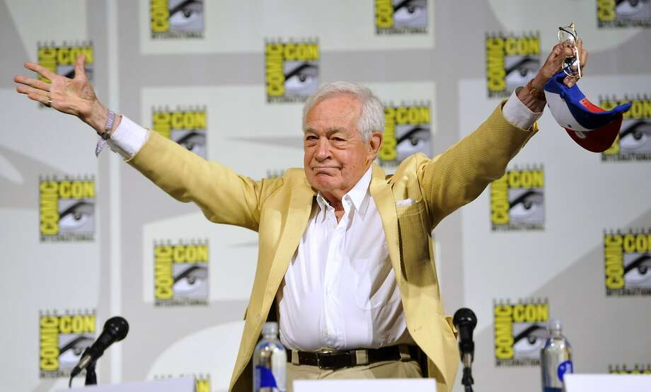 "Jack Larson, who played Jimmy Olsen in the 1950's TV series, ""The Adventures of Superman, attends the ""Superman"" 75th Anniversary panel on Day 4 of the Comic-Con International on Saturday, July 20, 2013 in San Diego. (Photo by Chris Pizzello/Invision/AP) Photo: Chris Pizzello, Associated Press"