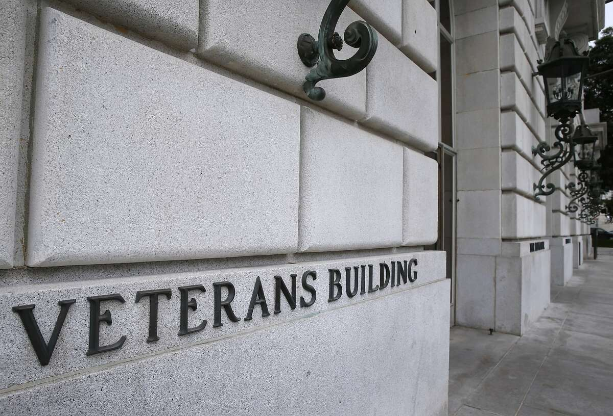 The newly renovated War Memorial Veterans Building is seen on Van Ness Avenue in San Francisco, Calif. on Tuesday, Sept. 22, 2015.
