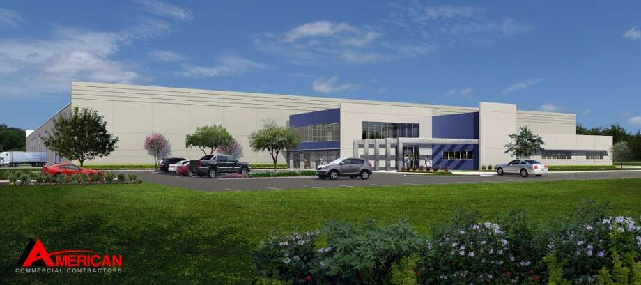 Houston-based American Commercial Contractors designed and constructed a 225,000 square-foot facility that will include office, distribution and warehouse space and a 7-acre pipe yard for FloWorks International. Photo: Pearland Economic Development Corp.